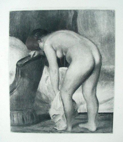 PIERRE AUGUSTE RENOIR (1841-1919) FRENCH - ORIGINAL HEL