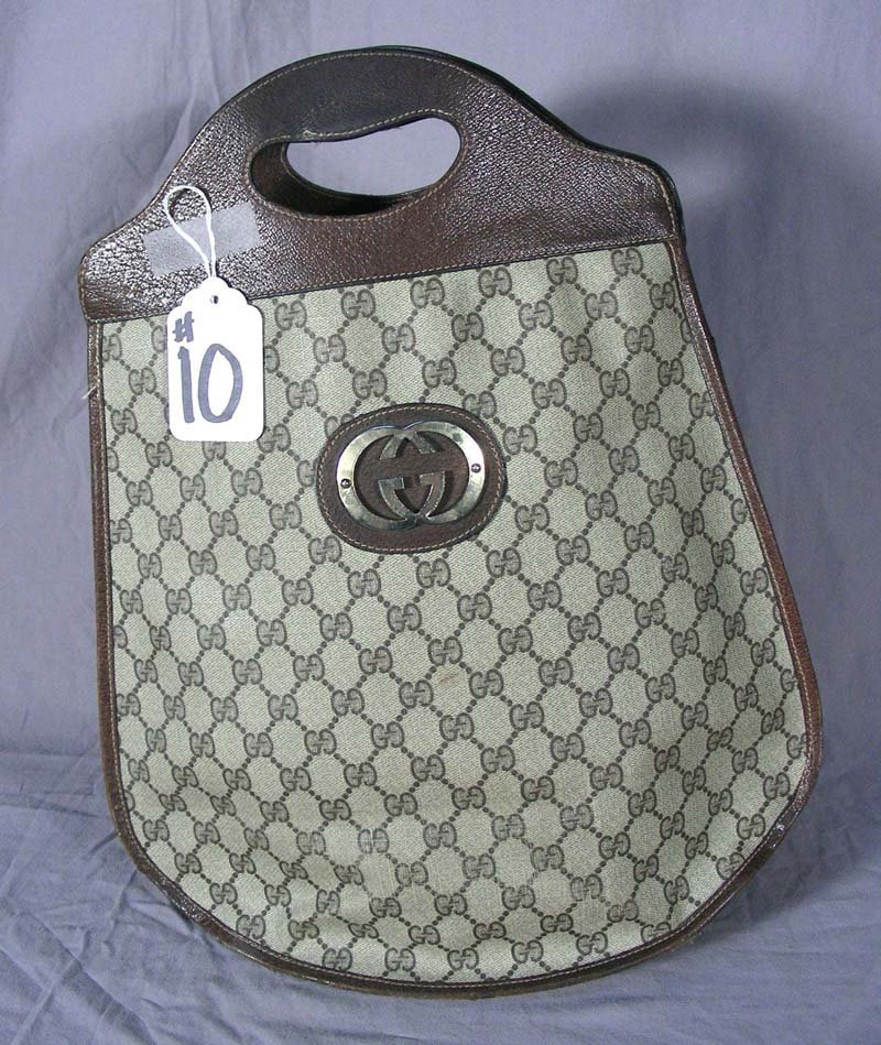 VINTAGE GUCCI SHOPPERS TOTE