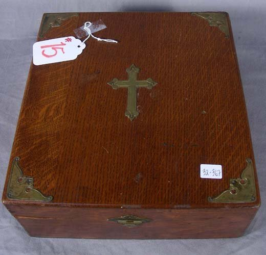 ANTIQUE PRAYER BOX