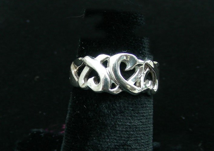TIFFANY & CO. STERLING RING