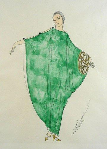 ROMAIN DE TIRTOFF (ERTE') (1892-1990) RUSSIAN/FRENCH -