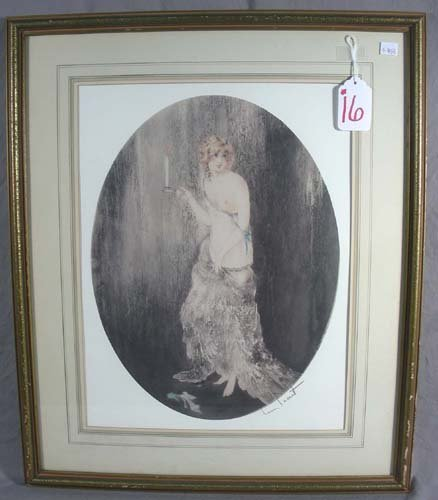 LOUIS ICART (1888-1950) FRENCH - PRINT AFTER ORIGINAL