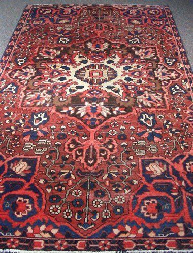 Semi Antique Hamadan Area Rug