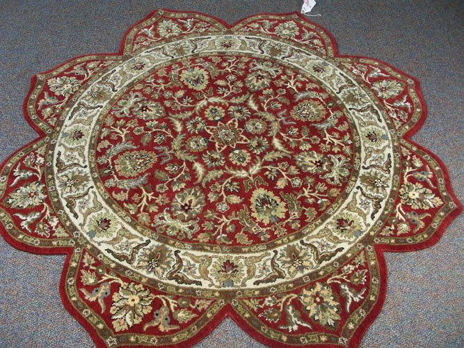 Unusual Rajasthan Star Rug