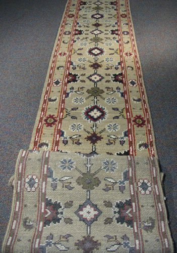 Extra Long Hand Knotted Runner