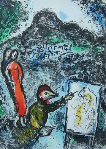 MARC CHAGALL (1887-1985) RUSSIAN/FRENCH - ORIGINAL