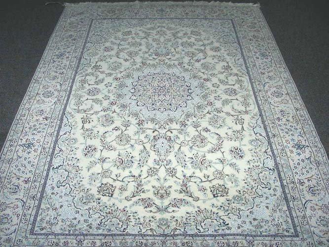 VERY FINE PERSIAN NIAN AREA RUG