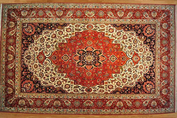 MANSION SIZE HAND KNOTTED PERSIAN BAKHITIARI AREA RUG