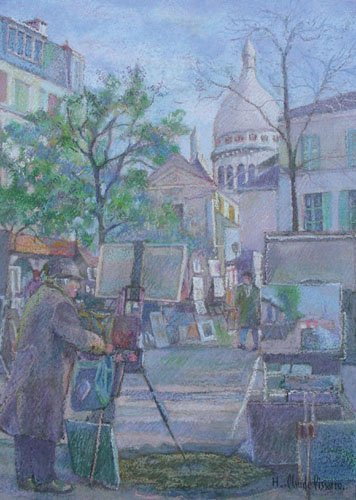 H. CLAUDE PISSARRO (1935-    ) FRENCH