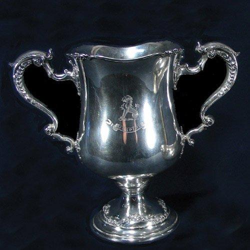 VINTAGE STERLING SILVER PRESENTATION CUP BY HOWARD &
