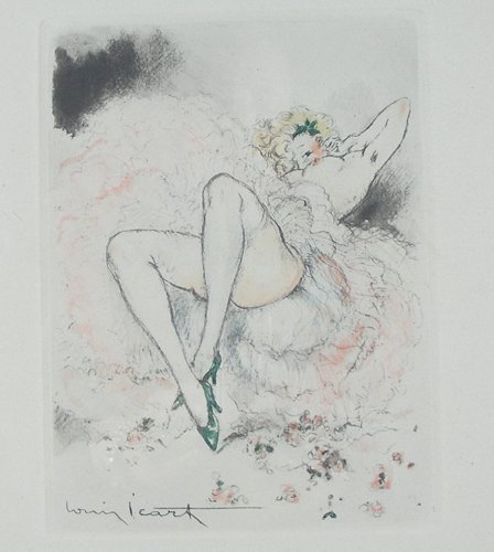 LOUIS ICART (1888-1950) FRENCH - ORIGINAL COPPER PLATE
