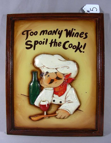 HUMOROUS CHEF SIGN
