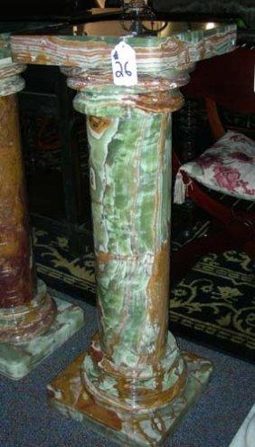 Onyx Column Style Pedestal