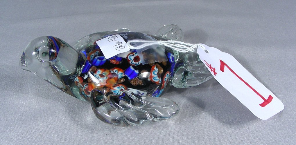 ART GLASS SEA TURTLE