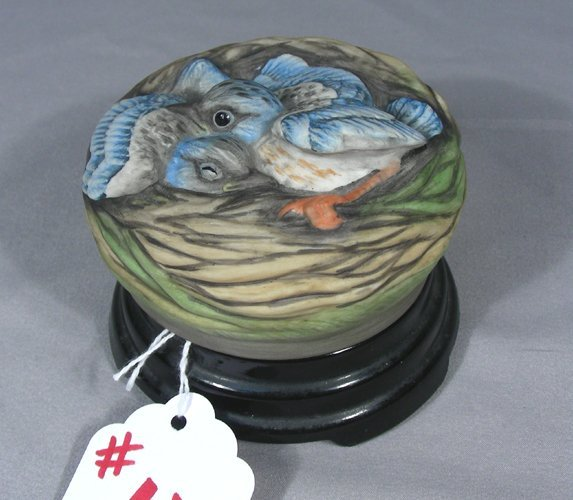"BOEHM PORCELAIN SCULPTURE ""BIRDS IN NEST"