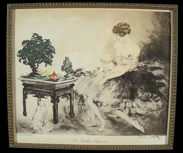 LOUIS ICART (1888-1950) FRENCH