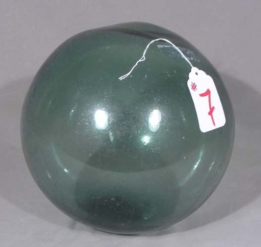 VINTAGE HAND BLOWN GLASS SEA BOUY