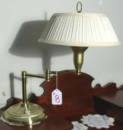 HEAVY BRASS DESK LAMP
