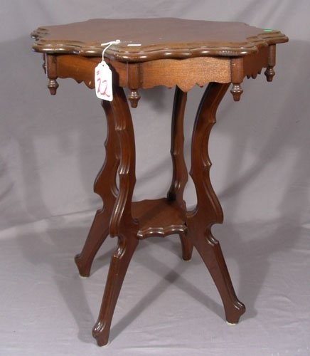 ANTIQUE HAND CARVED TABLE