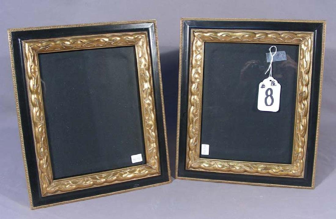 PAIR ORNATE PHOTO FRAMES