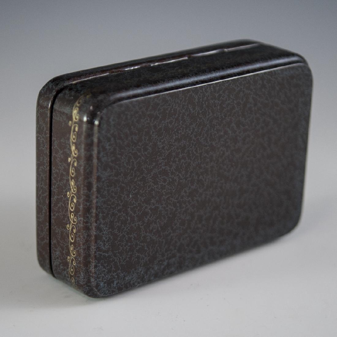 Russian Lacquered Papier Mache Erotic Box - 6