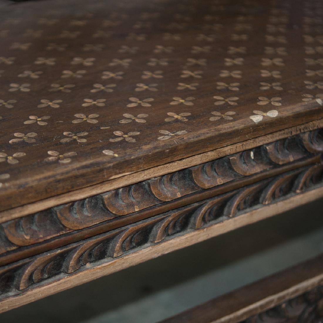 Vintage Wooden Bench - 3