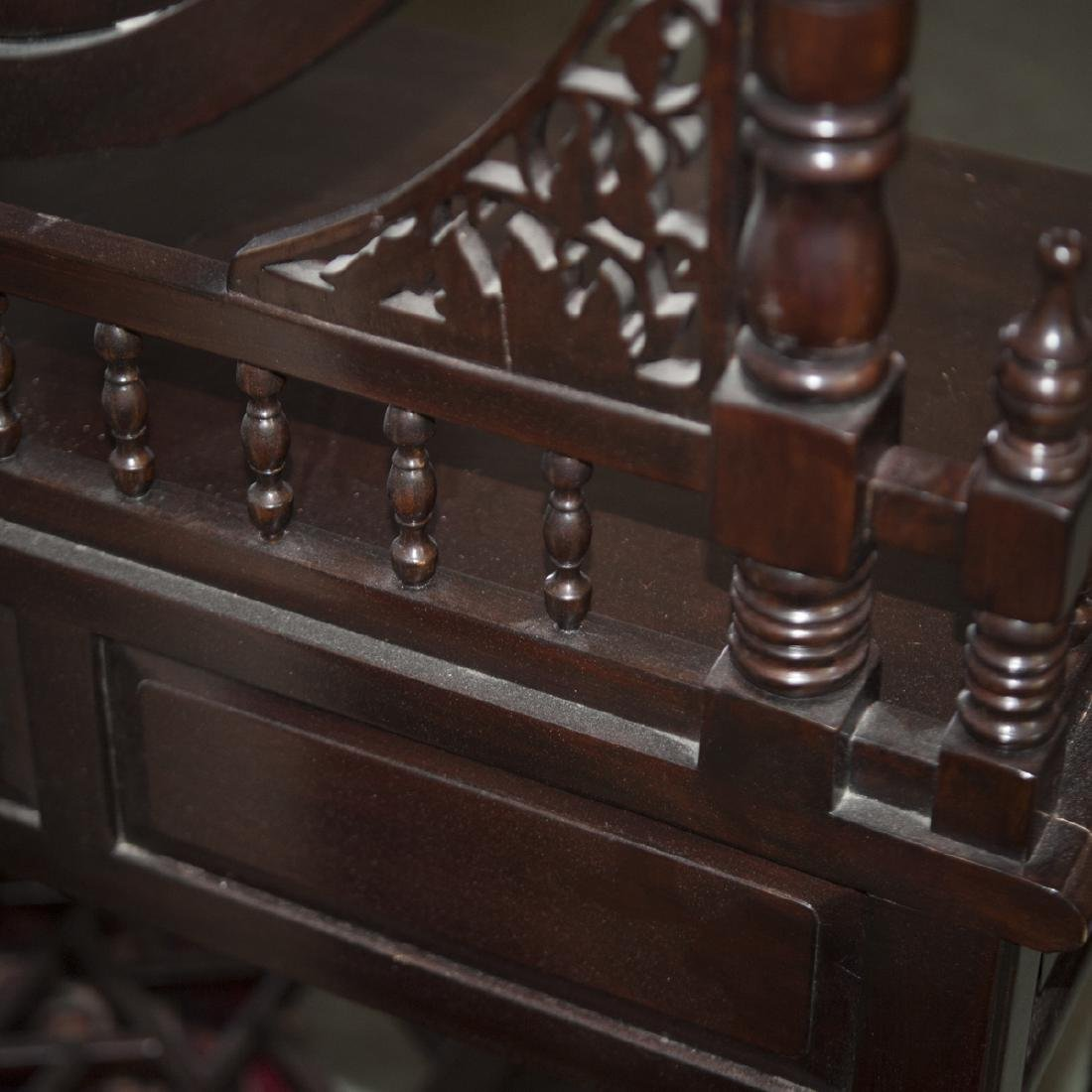 Vintage Wood Vanity - 2