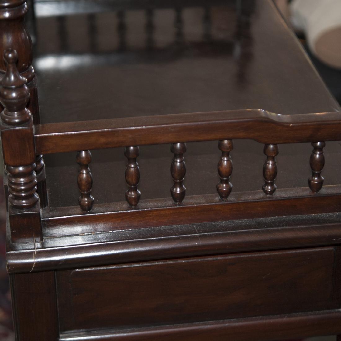 Vintage Wood Vanity - 3