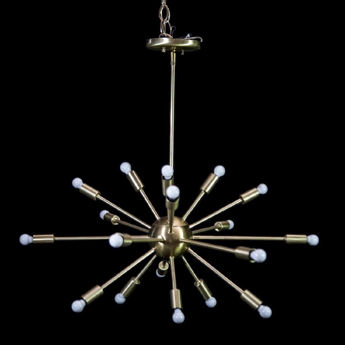 Vintage 16 Light Sputnik Lamp