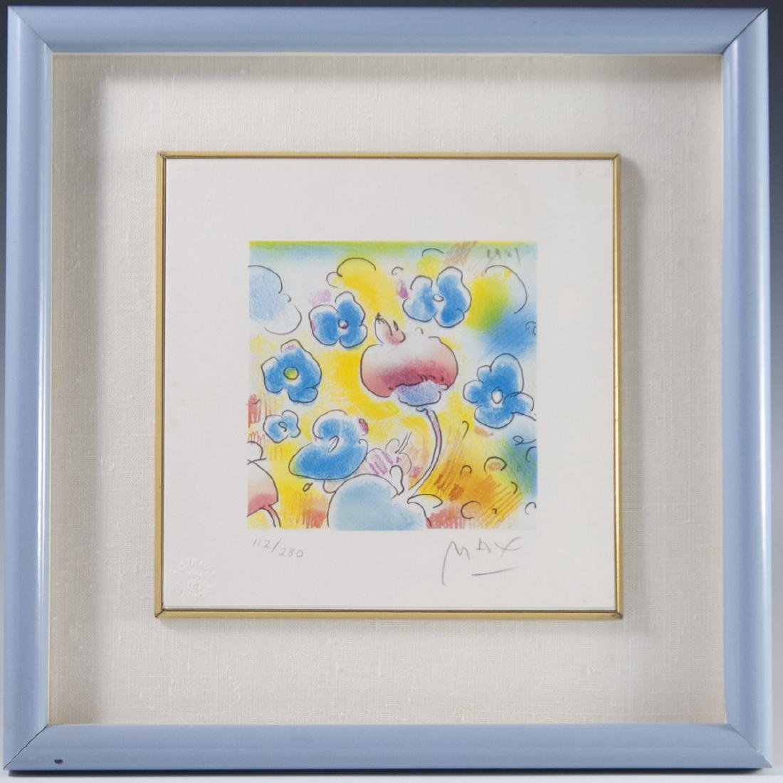 Peter Max(American b. 1937) Lithograph