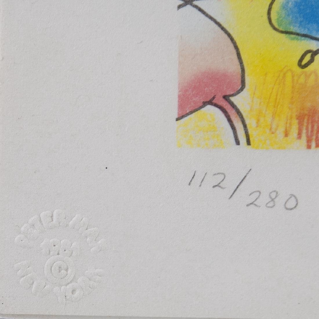Peter Max(American b. 1937) Lithograph - 2