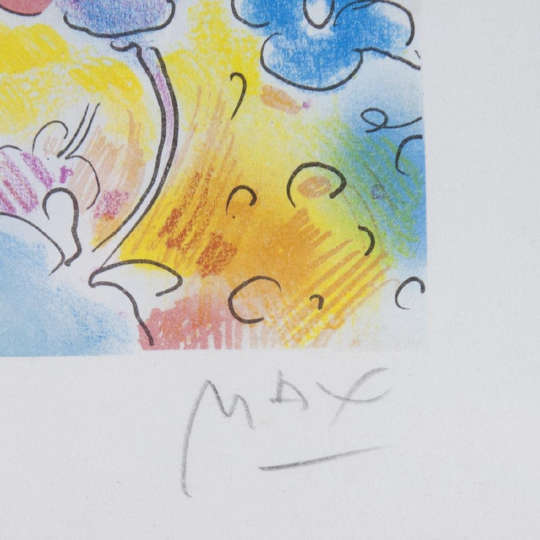 Peter Max(American b. 1937) Lithograph - 3
