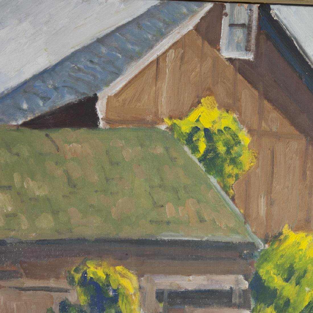 Vintage Signed Oil on Canvas - 3