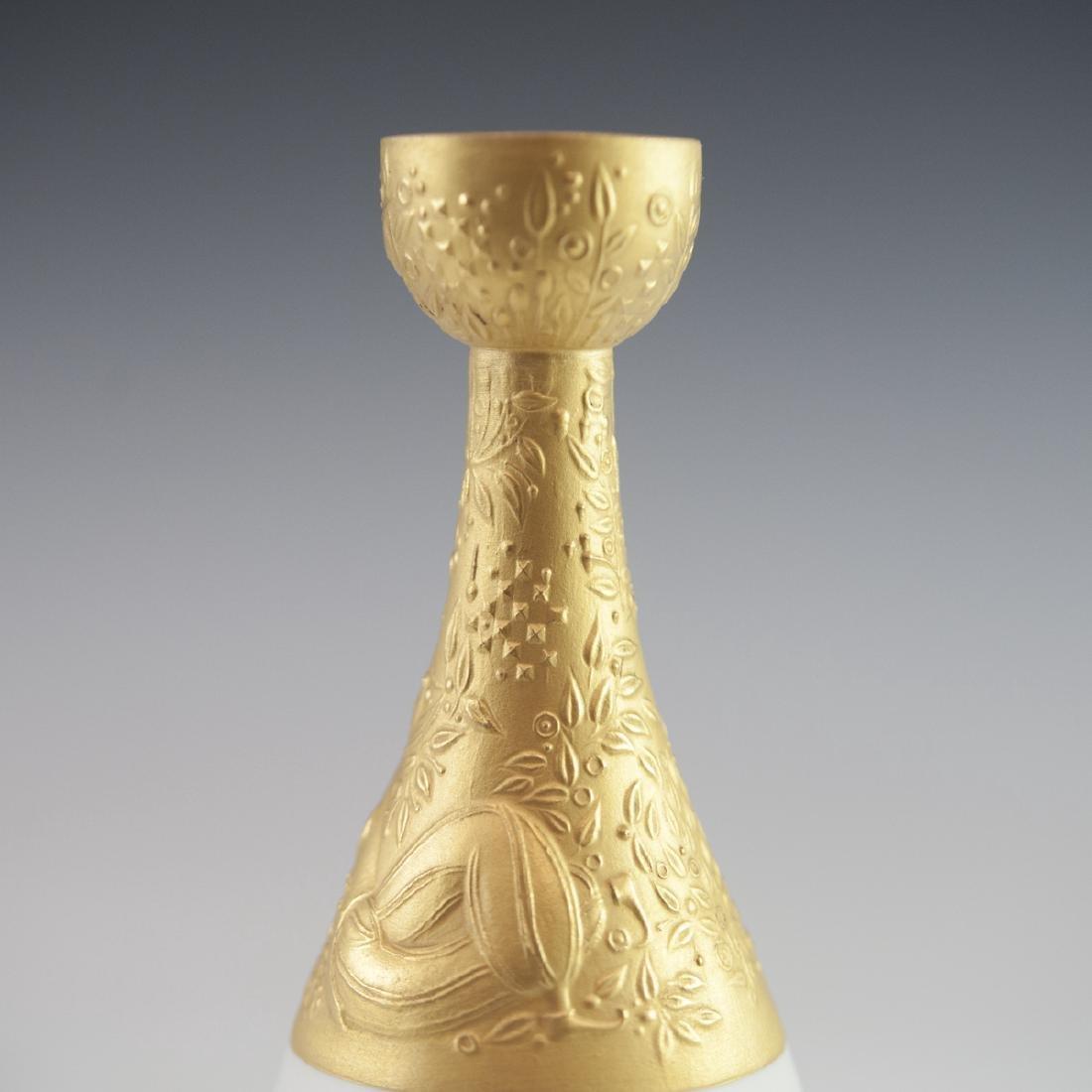 "Rosenthal Porcelain ""Magic Flute"" Candlestick - 2"