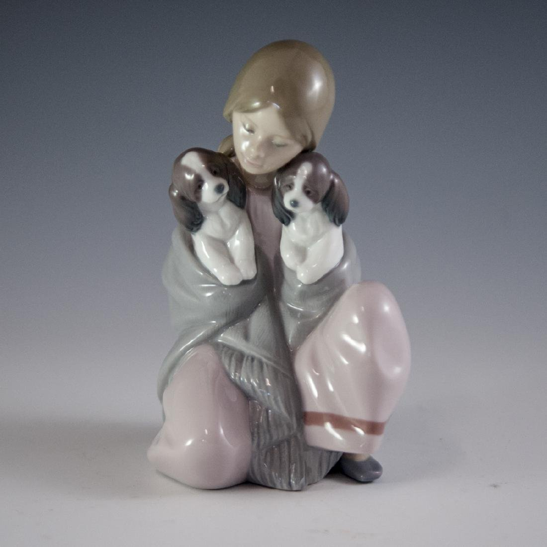 "Lladro Porcelain ""Snuggle Up"" Figurine"