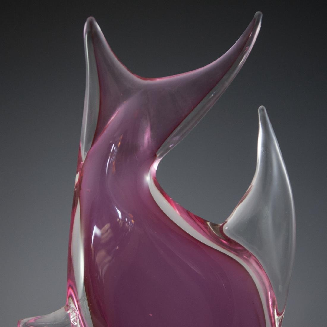 Signed Murano Glass Fish - 5