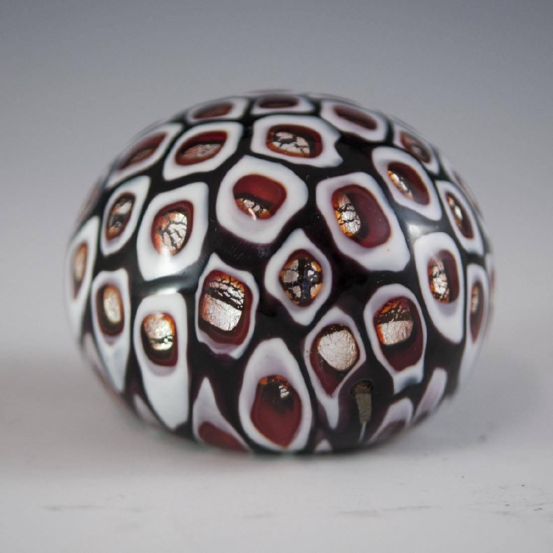 "Fratelli Toso ""Windows"" Murano Glass Paperweight"