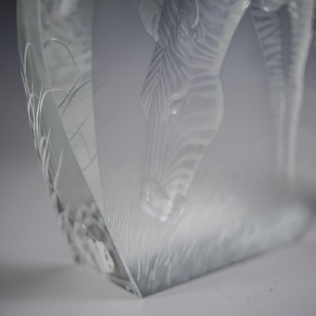 Moser Crystal Zebra Relief - 4