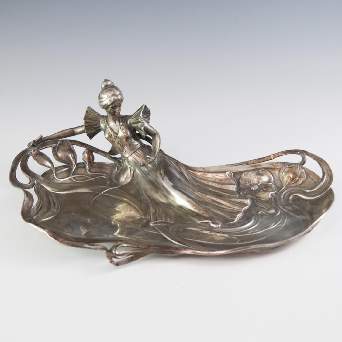WMF Silver Plated Art Nouveau Dish