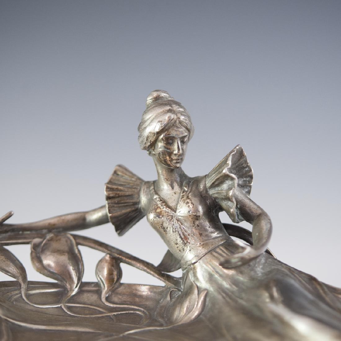 WMF Silver Plated Art Nouveau Dish - 2