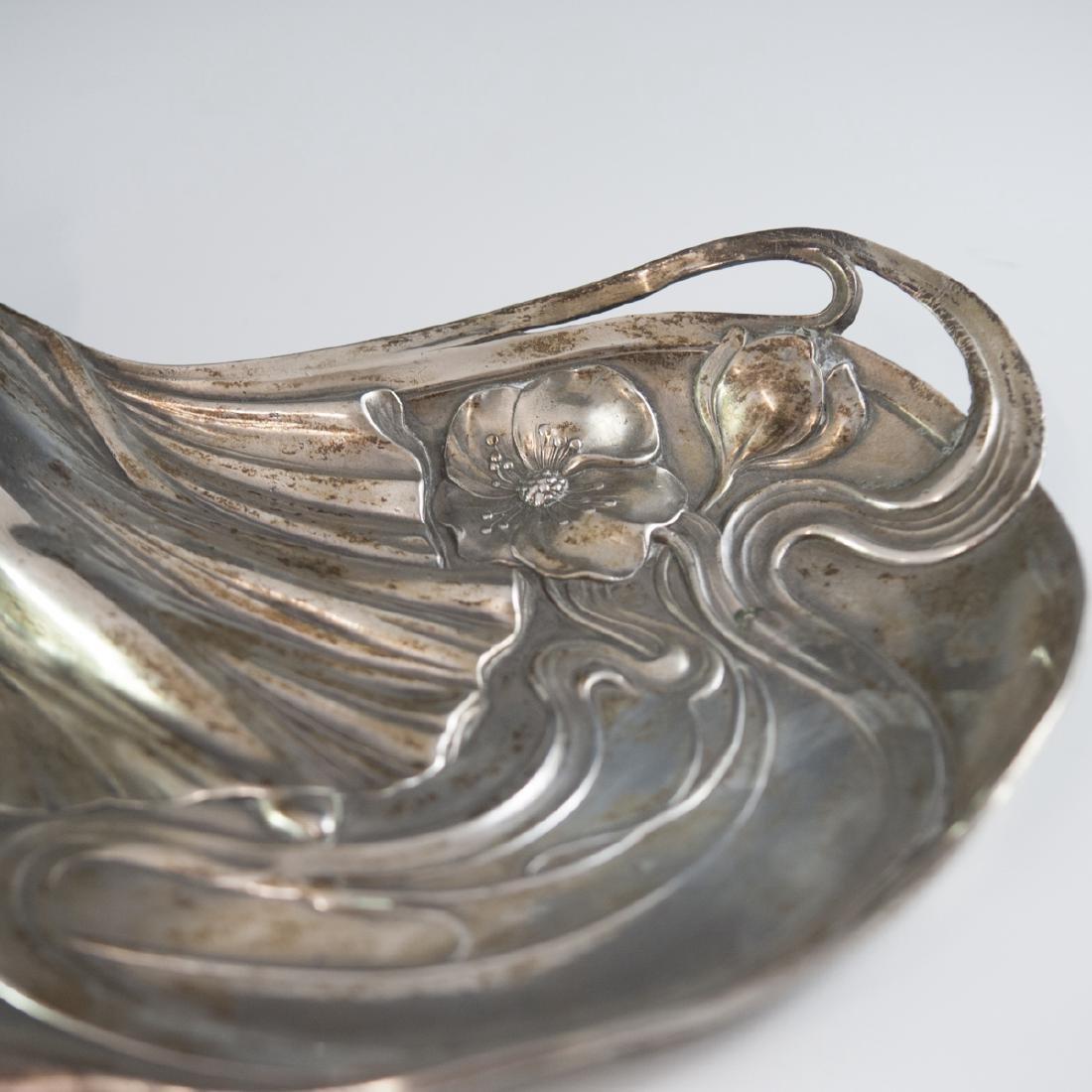 WMF Silver Plated Art Nouveau Dish - 4