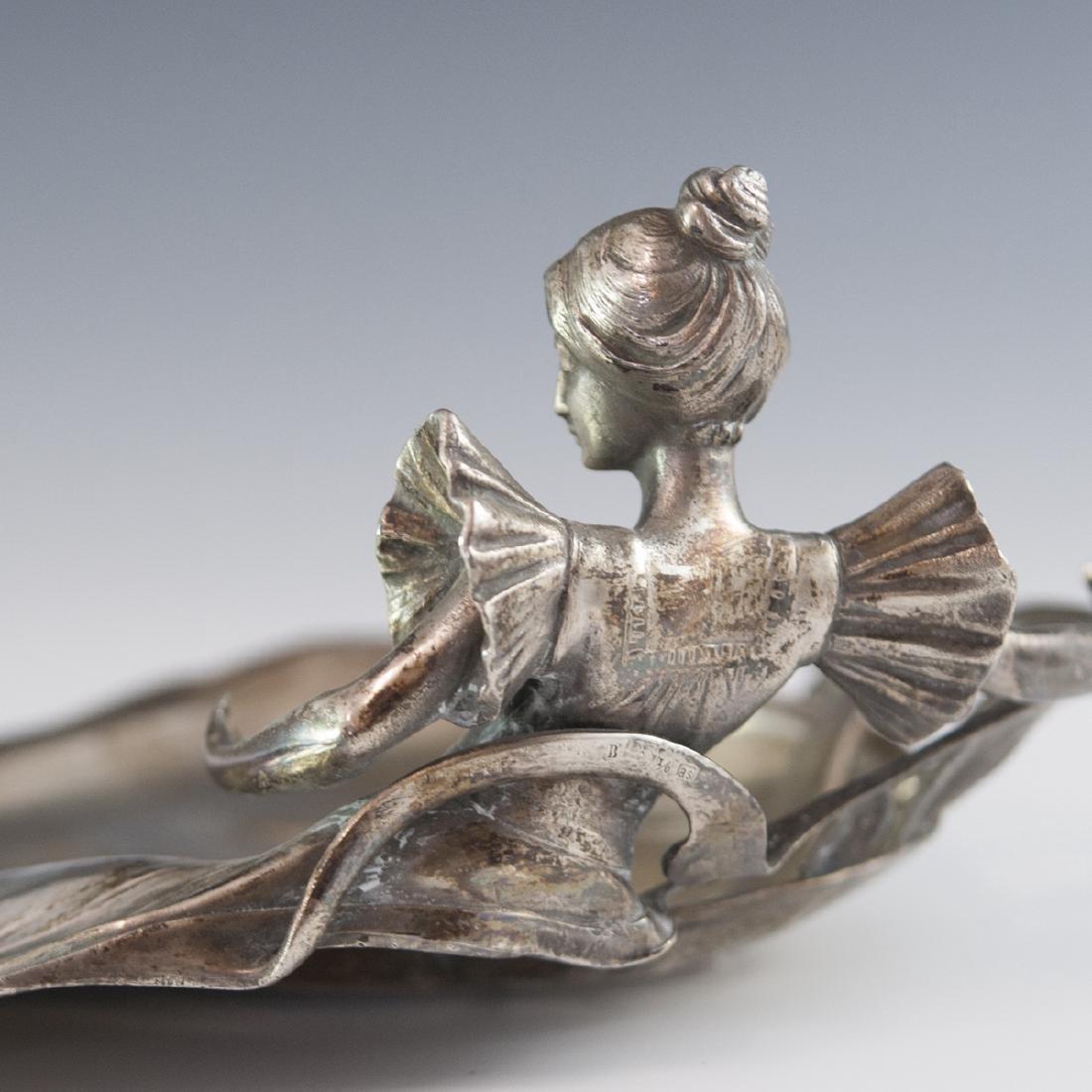WMF Silver Plated Art Nouveau Dish - 6