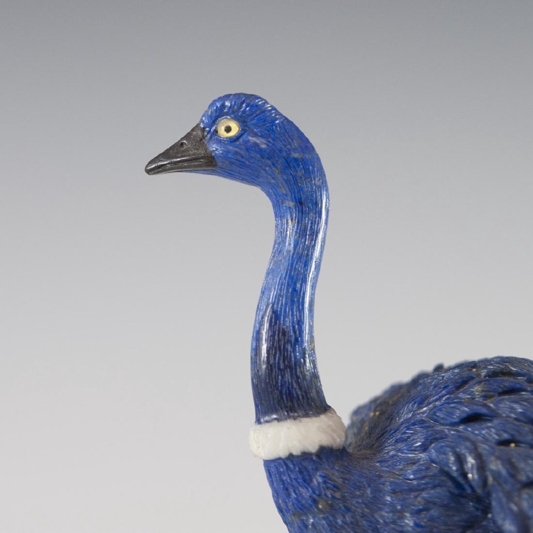 Lapis Lazuli Quartz & Dolomite Ostrich - 4