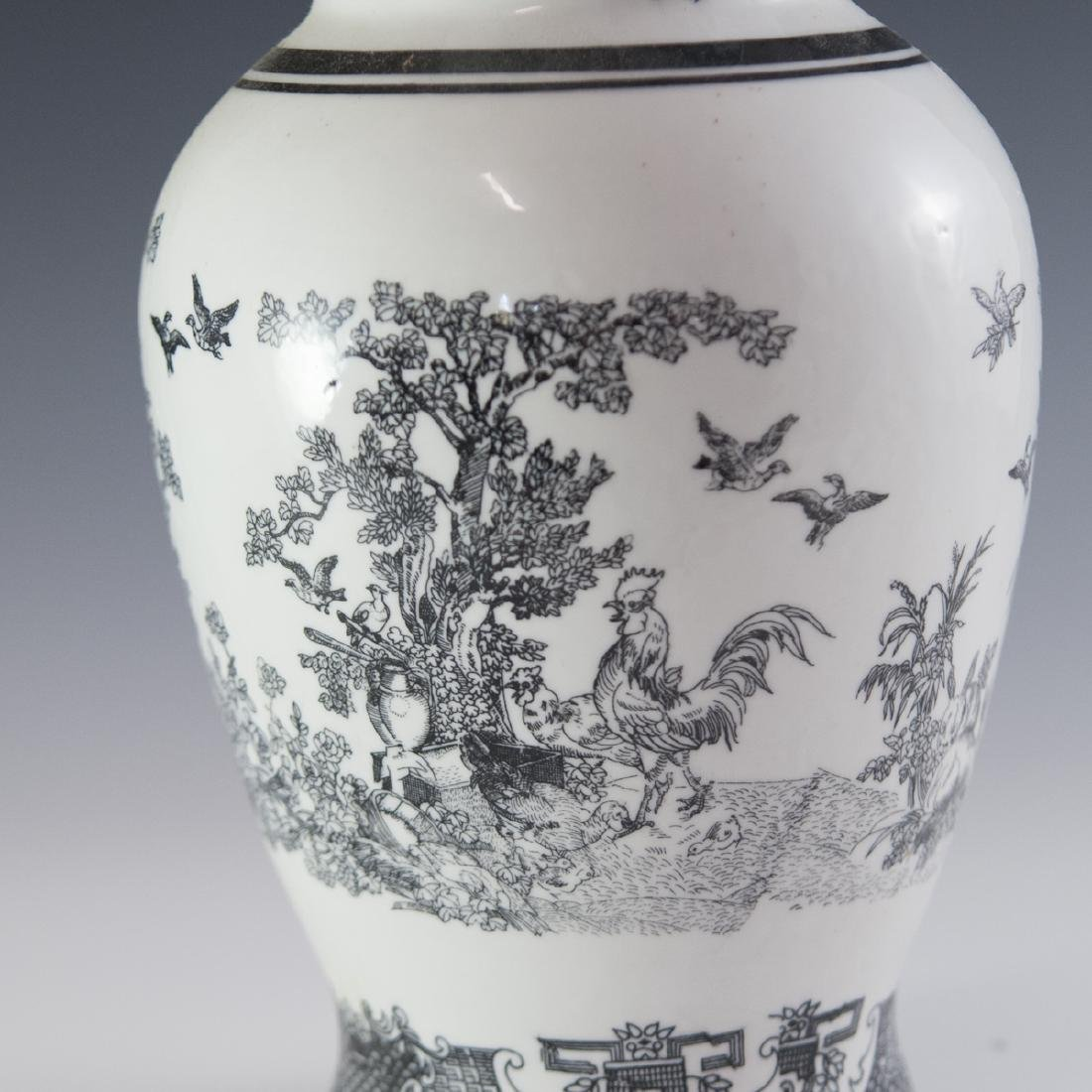 Decorative Chinese Porcelain Vase - 4