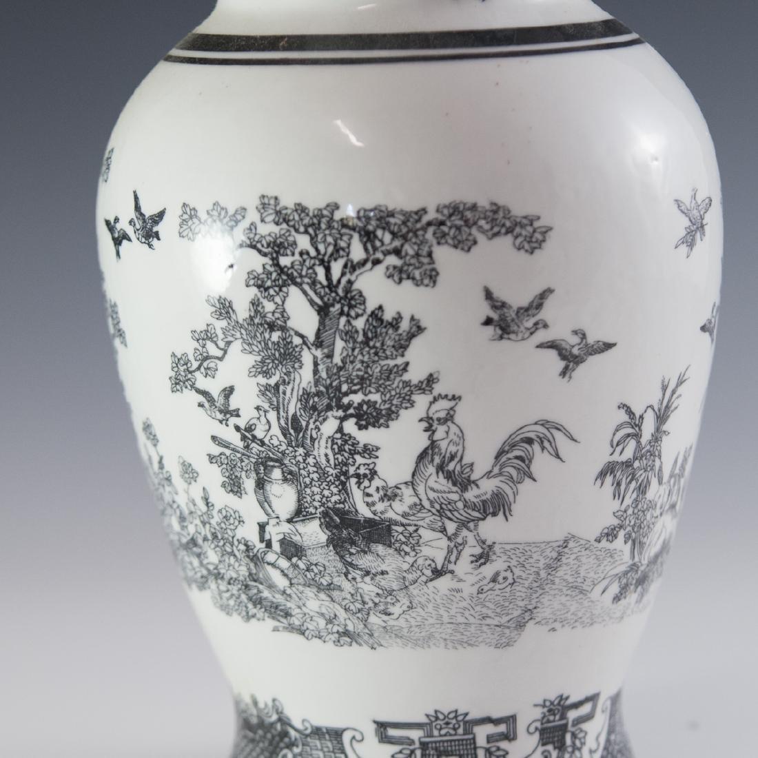 Decorative Chinese Porcelain Vase - 4