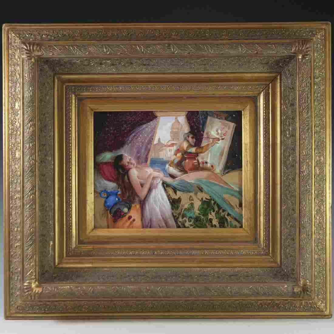 """Venetian Morning"" Oil on Canvas"