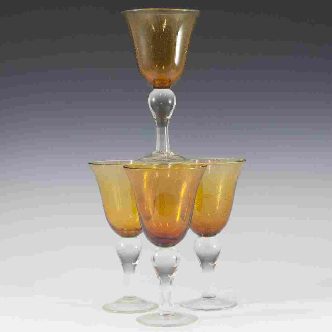 Murano Glass Wine Cups