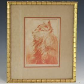 Signed Lithograph Etching