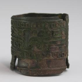 Chinese Archaic Style Bronze Censer