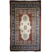 Wool Caucasian Kazak Rug
